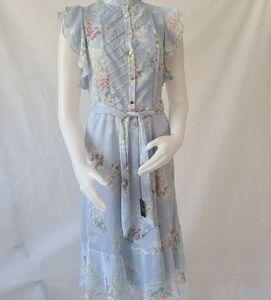 Lauren Ralph Lauren Janevra chiffon floral dress